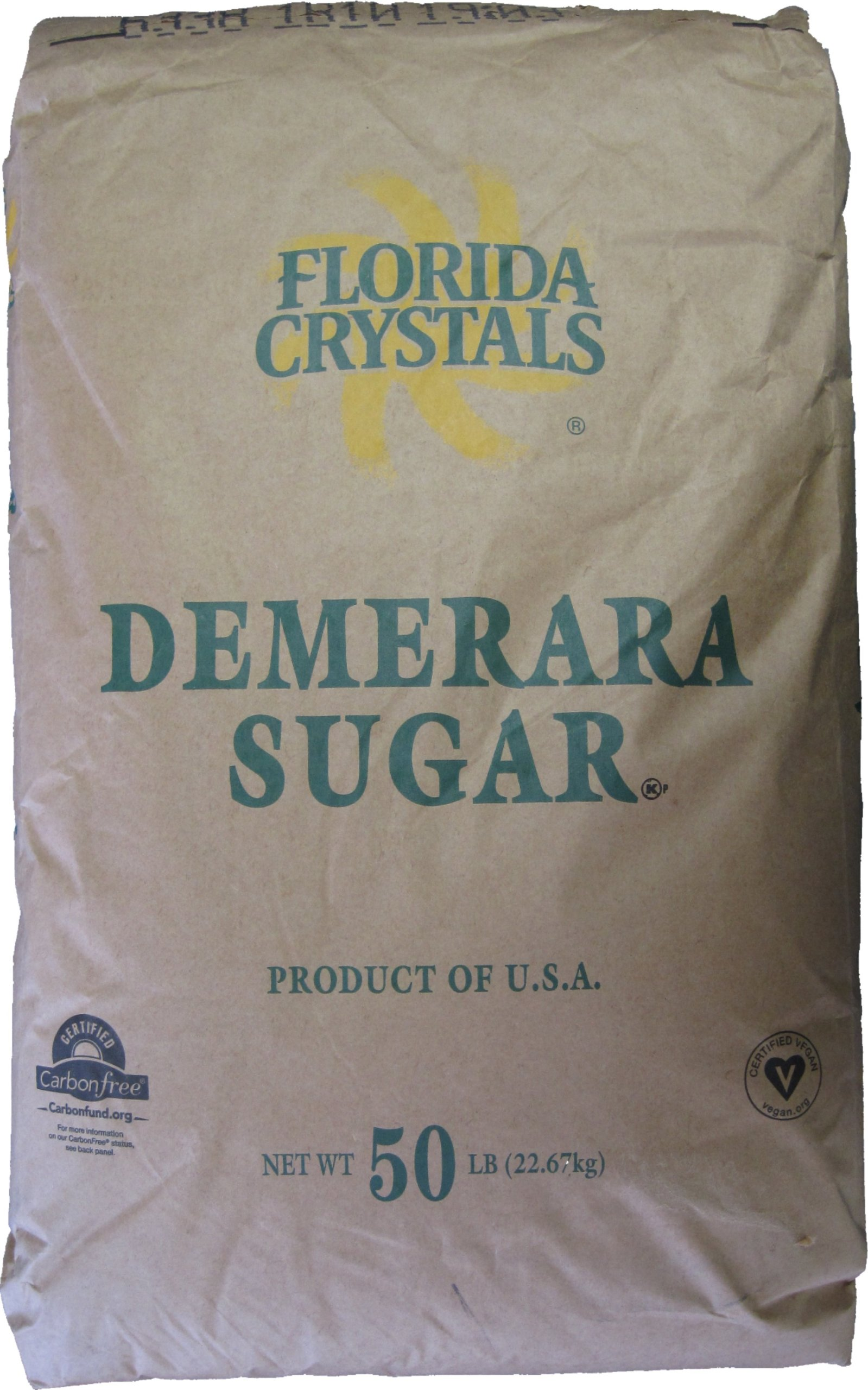 Demerara Sugar - 50 Pounds by Florida Crystals