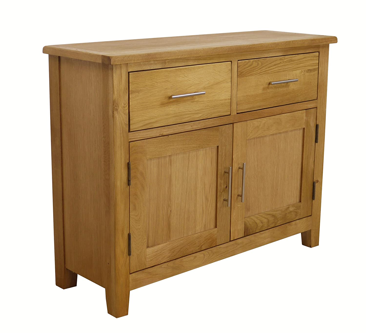 Nebraska Oak   Small Sideboard / 2 Door 2 Drawer Storage Dresser Cupboard  Cabinet Unit: Amazon.co.uk: Kitchen U0026 Home Part 88