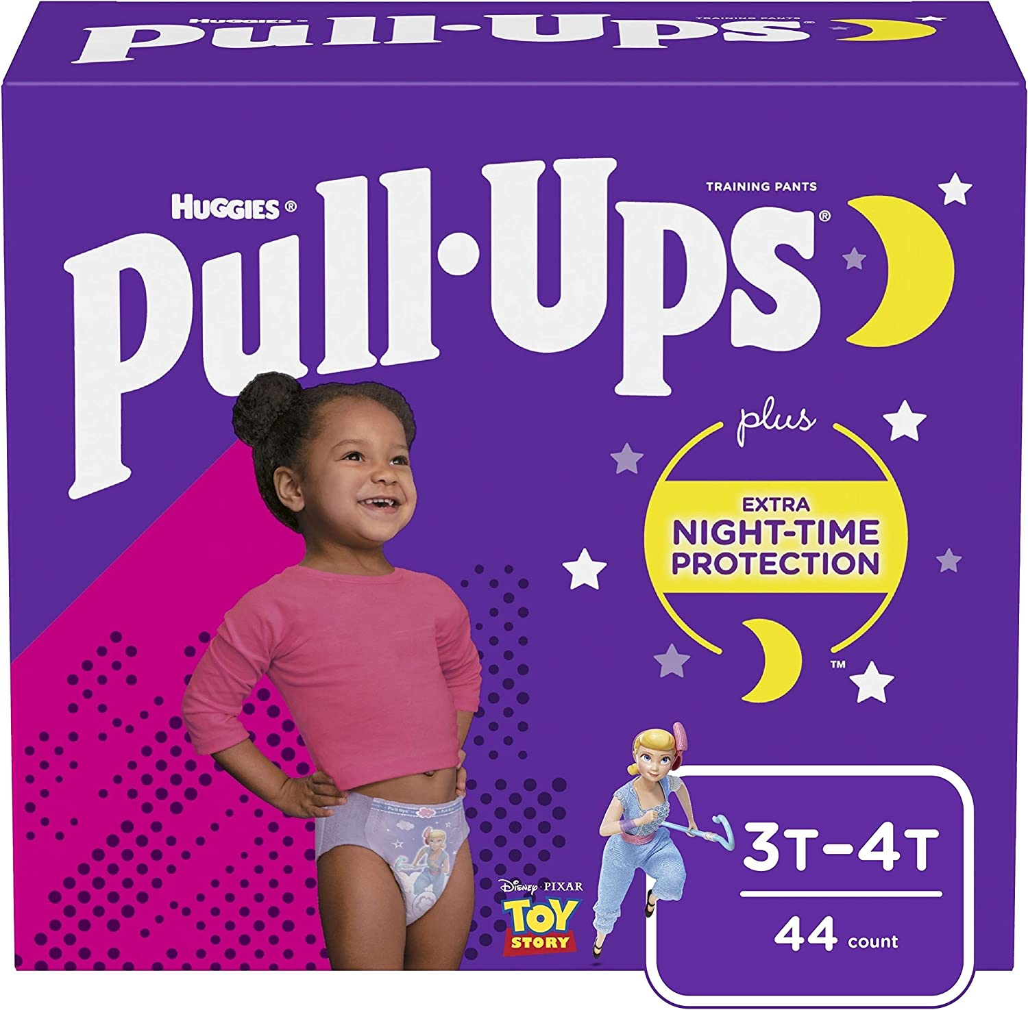 Girls' 3T-4T (44 Count)