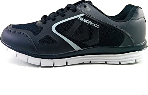 Zapatillas Hombre Memory Foam Negras: Amazon.es: Zapatos y ...