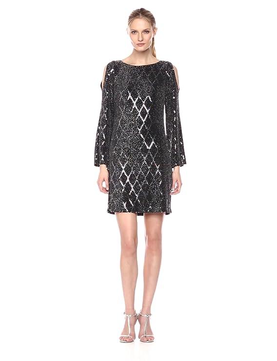c5ccb0d2e7419 Jessica Howard Women's Cold Shoulder Sheath Dress at Amazon Women's  Clothing store: