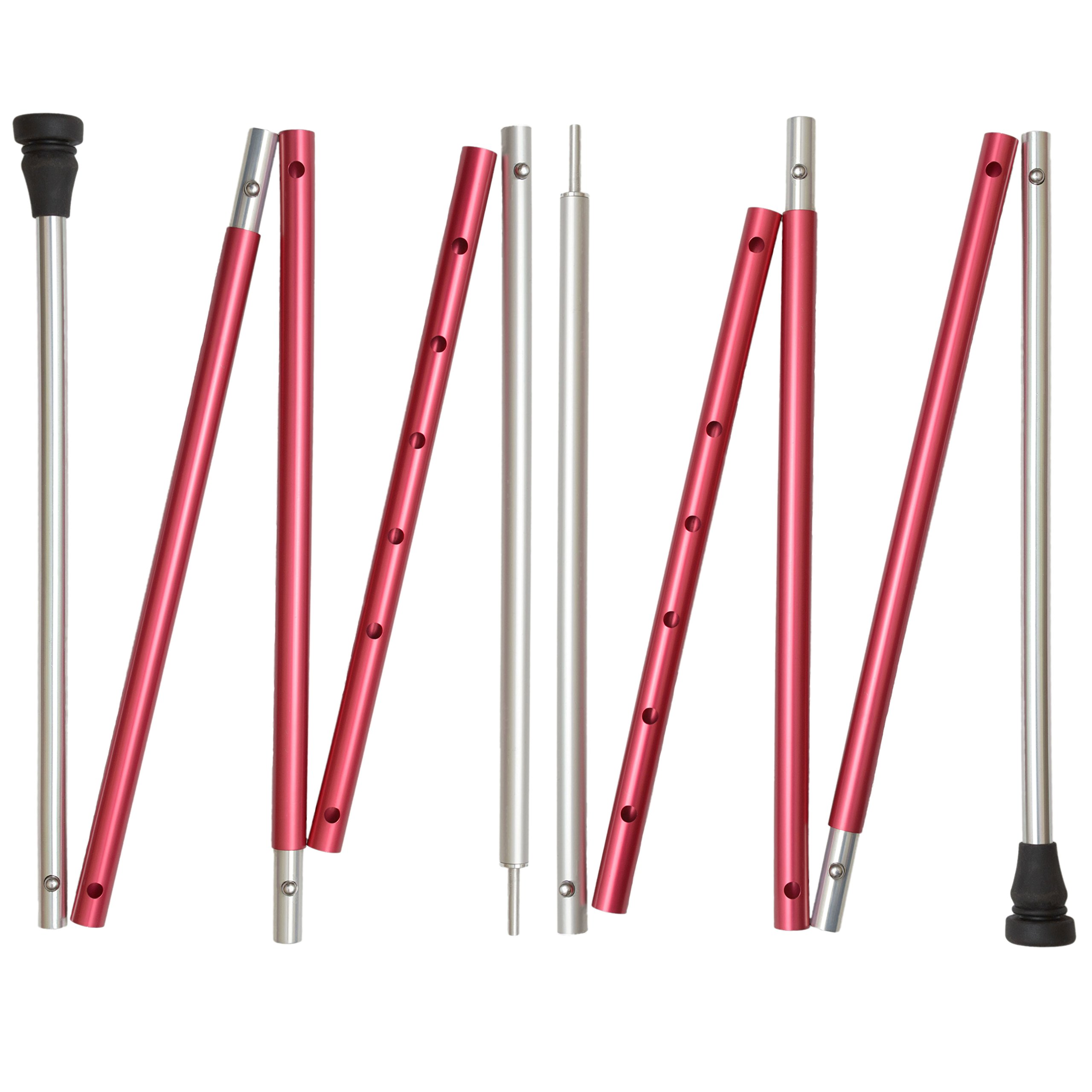 Paria Outdoor Products Adjustable Tarp and Tent Poles - Versatile, Durable, and Lightweight - Perfect for Camping, Backpacking, Hammocks, Shelters, and Awnings by Paria Outdoor Products