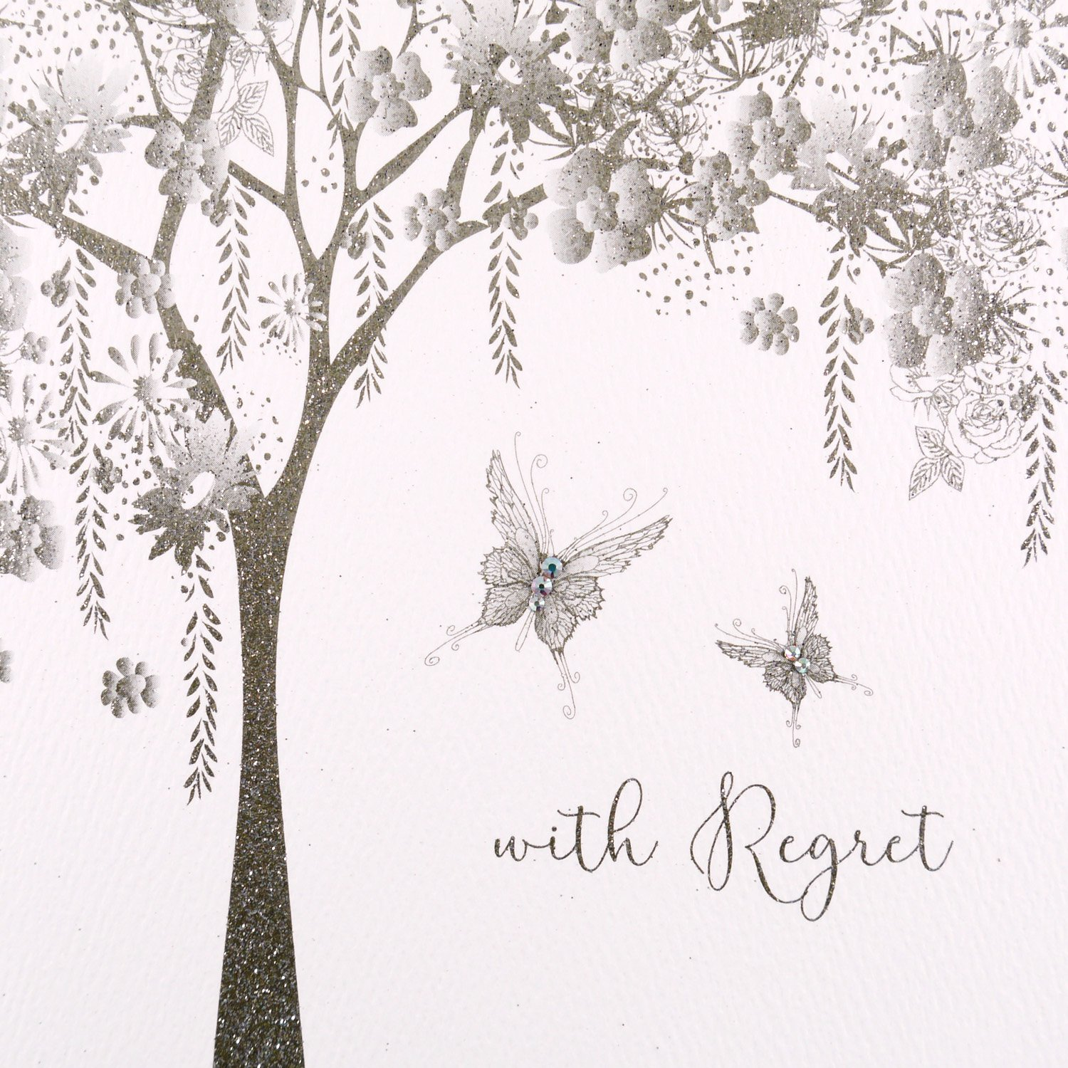 With Regret - Handmade Greeting Card / GSM18 Five Dollar Shake