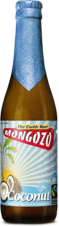 Mongozo Coconut (6 botellas de 33 cl) (cerveza belga artesana)