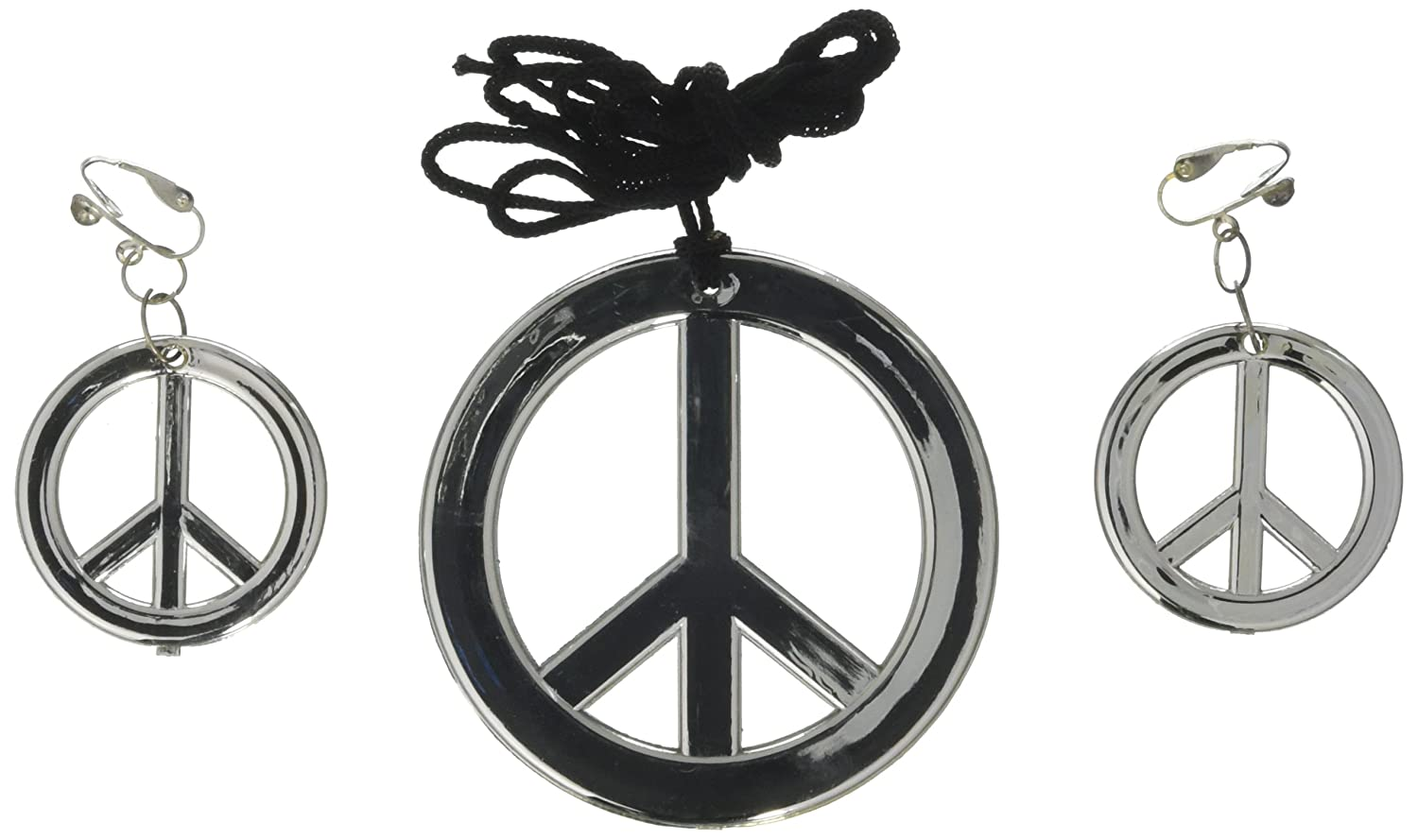 Amazon Peace Sign Necklace Earrings Accessory Toys Games
