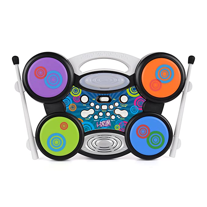 Toyrific WB Drum Machine Plug & Play Kits X Ipod Mp3 Tambor: Amazon.es: Juguetes y juegos