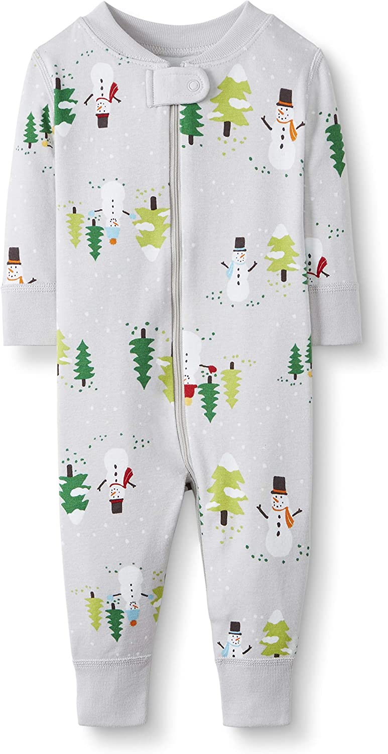 Moon and Back by Hanna Andersson Unisex Baby Infant-and-Toddler-Sleepers One Piece Footless Pajamas