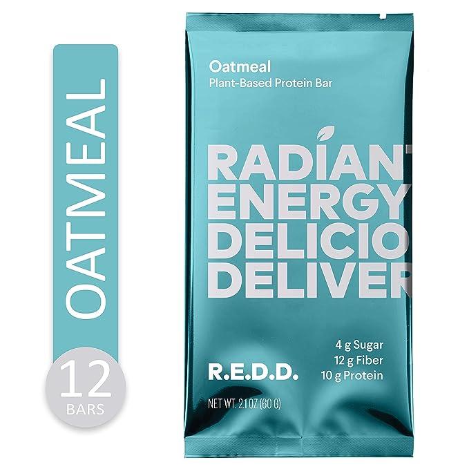 R.E.D.D Vegan Oatmeal Protein Bar