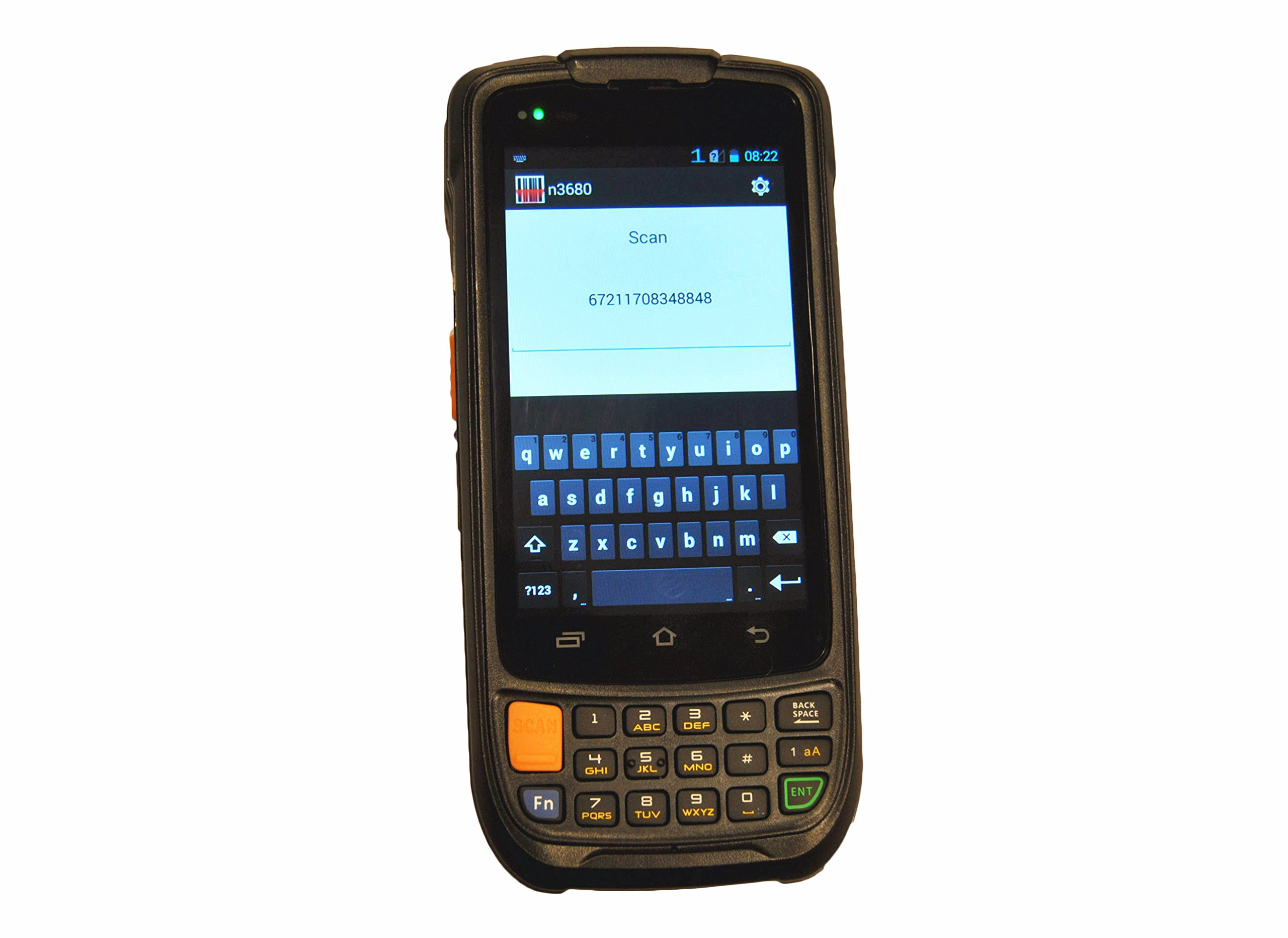 Cruiser Enterprise Handheld Terminal Android PDA Barcode Scanner, Integrated Zebra 1D Laser Barcode Engine, Android 5.1 OS, WiFi 802.11b/g/n, For Field Mobile Work by Cruiser (Image #1)
