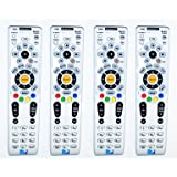 Lot Of 4 Remote Controls NEW!! DIRECTV RC66RX RF Universal Remote Control's Replaces RC65RX