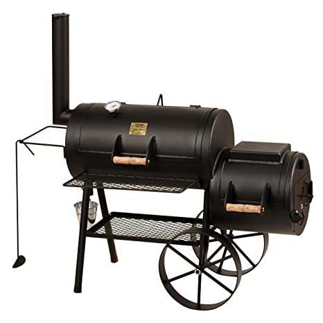 Joe's Barbeque Smoker 16' Classic, mit Kochplatte