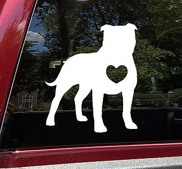 American Bulldog Laptop StickerDie Cut Vinyl