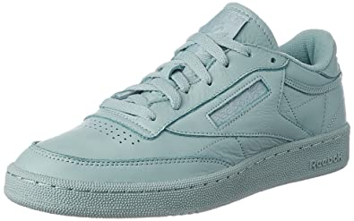 Mens Shoes Reebok CLub C85 Elm Seaside Grey BS7803
