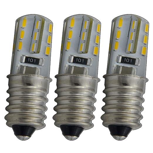 3 mini bombillas led E14 para frigoríficos, 1,5W,