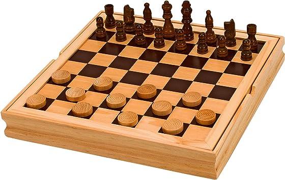 scacchi in legno dama in LEGNO filetto in legno giochi in legno 3 in 1