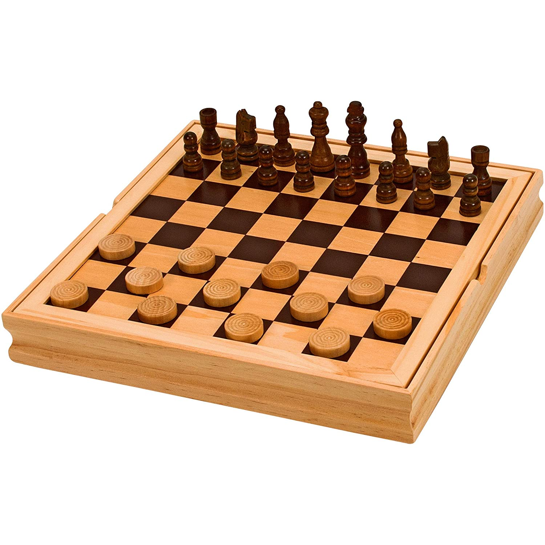 Legnoland- Juegos de Madera 3 en 1, 30 x 30 x 4 (Star 81 37323 ...
