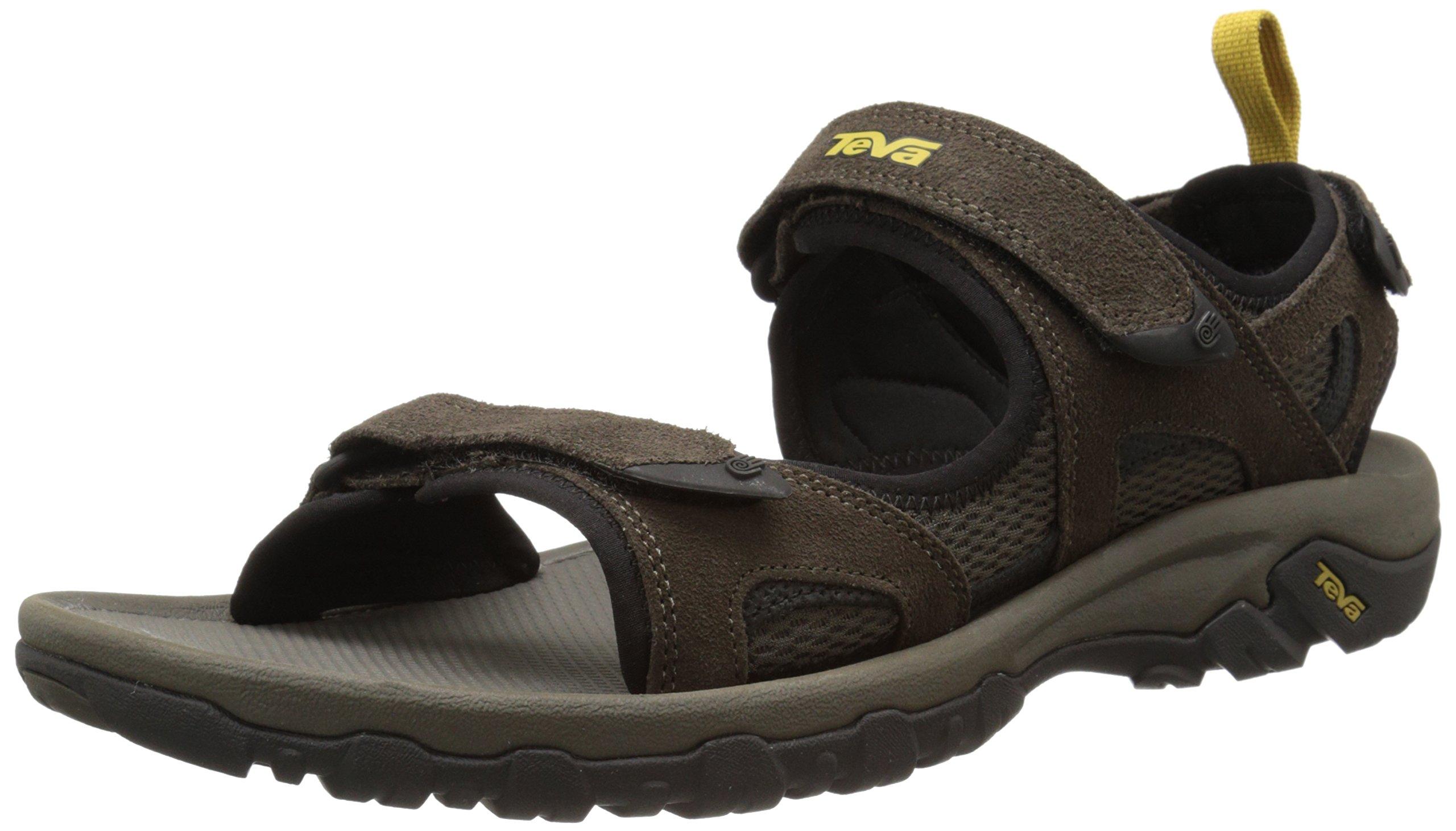 Teva Men's Katavi Outdoor Sandal,Brown,9 M US by Teva
