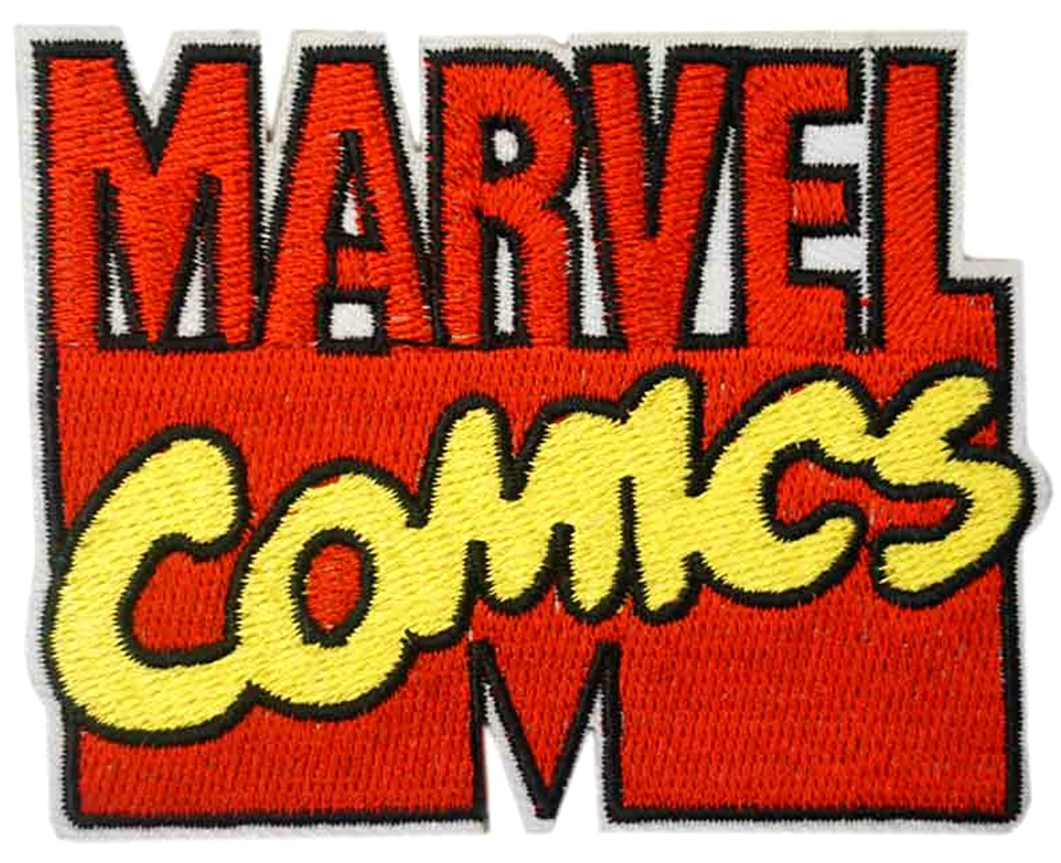 Amazon Avengers Inifinty War Patch Marvel Comics Text Logo