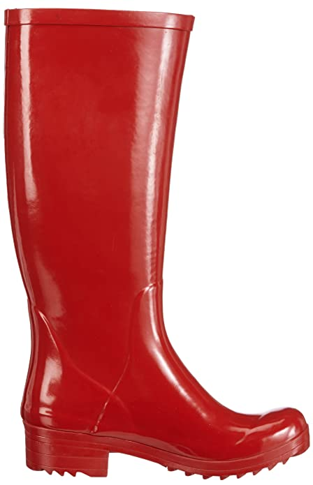 Aigle Brillantine 24628 - Botas de caucho para mujer, Rojo (Rosso (Rot (ruby))), 35