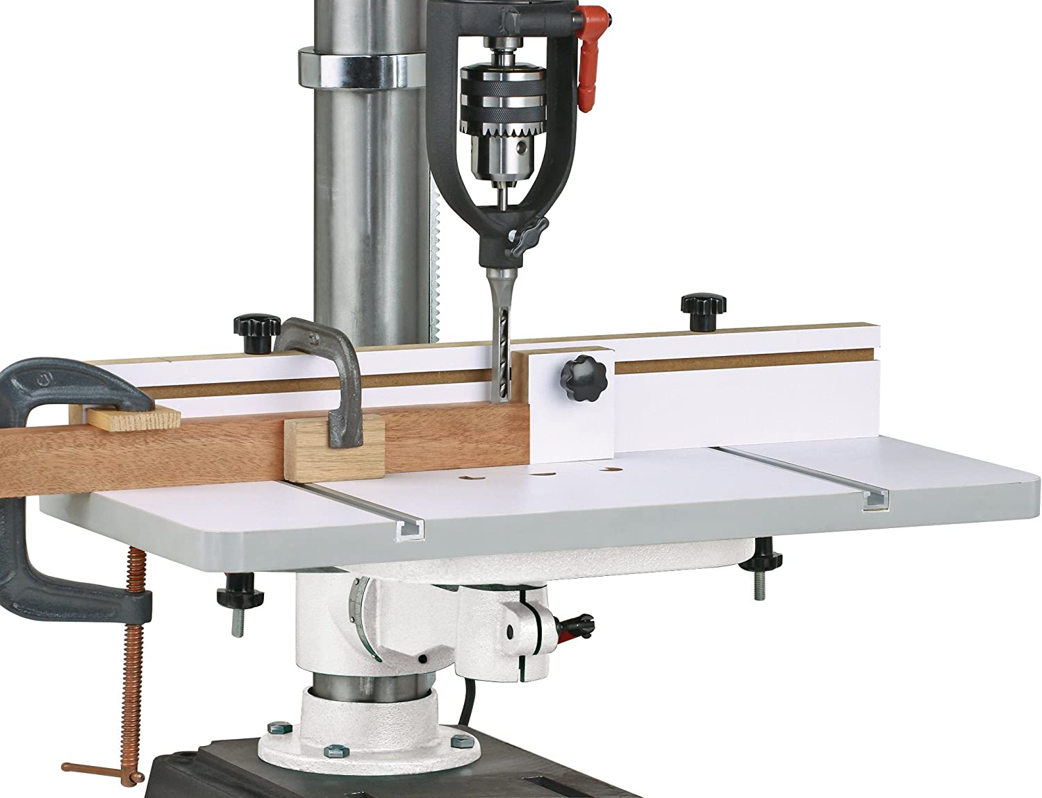 best drill press table: Woodstock D4033 - perfect for those on a budget