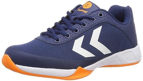 3417e29d5c9 hummel Unisex-Erwachsene Root Play Trophy Multisport Indoor Schuhe, Blau  (Poseidon 8616)