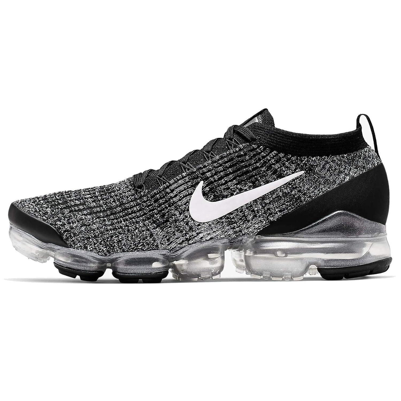 MultiCouleure (noir blanc Metallic argent 2) Nike Air Vapormax Flyknit 3, Chaussures d'Athlétisme Homme 48.5 EU