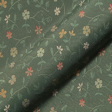 Stoff Polsterstoff Möbelstoff Bezugsstoff Meterware Für Stühle Eckbänke Etc Graubünden Grün Blumen Muster Amazon De Küche Haushalt