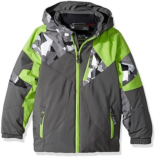 b1896c36c Amazon.com : Spyder Mini Leader Ski Jacket : Clothing