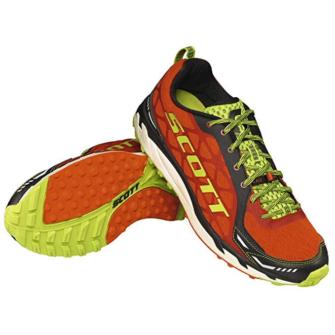 Scott Running zapatilla Trail Rocket 2.0, Red/green, 9,5 USA
