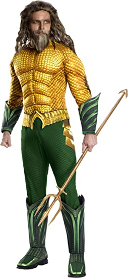 Rubies - Disfraz oficial de DC Aquaman The Movie, disfraz de lujo ...