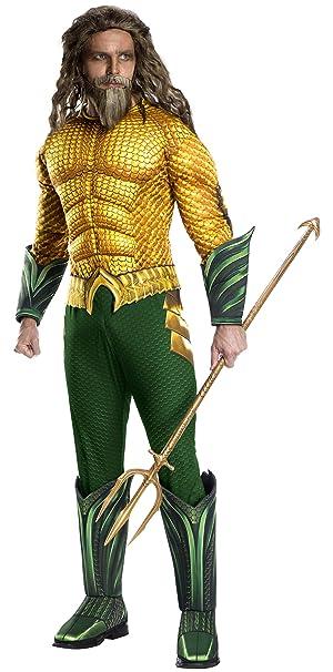 Amazon.com: Rubies Mens Standard Movie Adult Aquaman ...