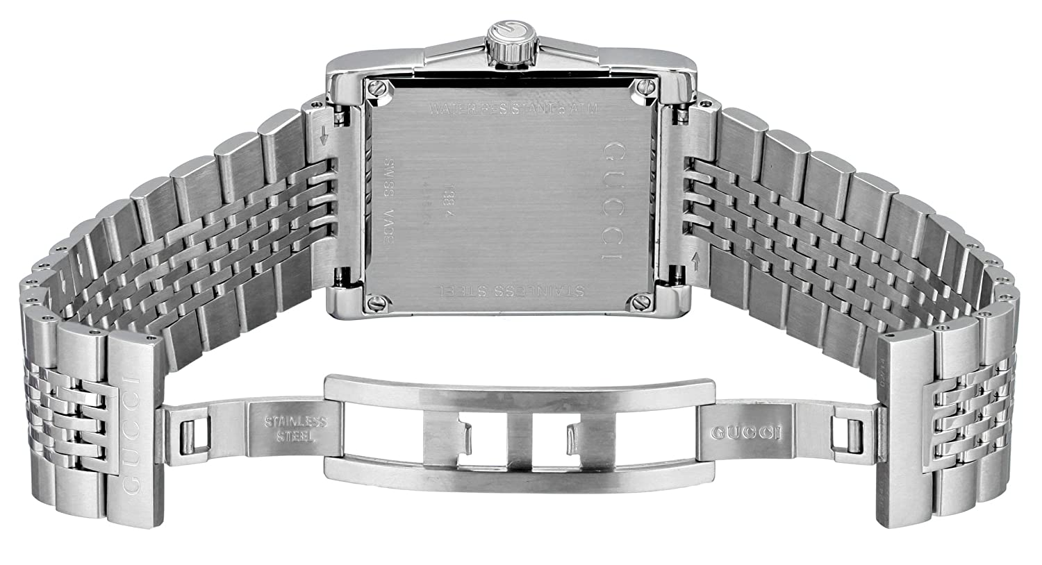4ab2b4a027a Amazon.com  Gucci G-Timeless Rectangle Stainless Steel Men s Watch(Model  YA138403)  Gucci  Watches