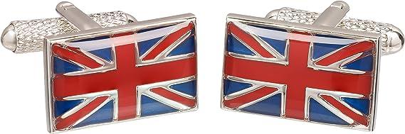 Union Jack Plated Flag Cufflinks