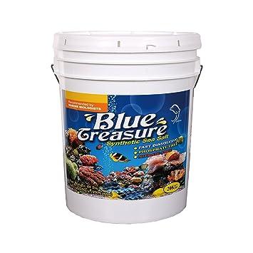 Blue Treasure - Sal marina sintética del arrecife 20 kg sin fosfatos: Amazon.es: Hogar