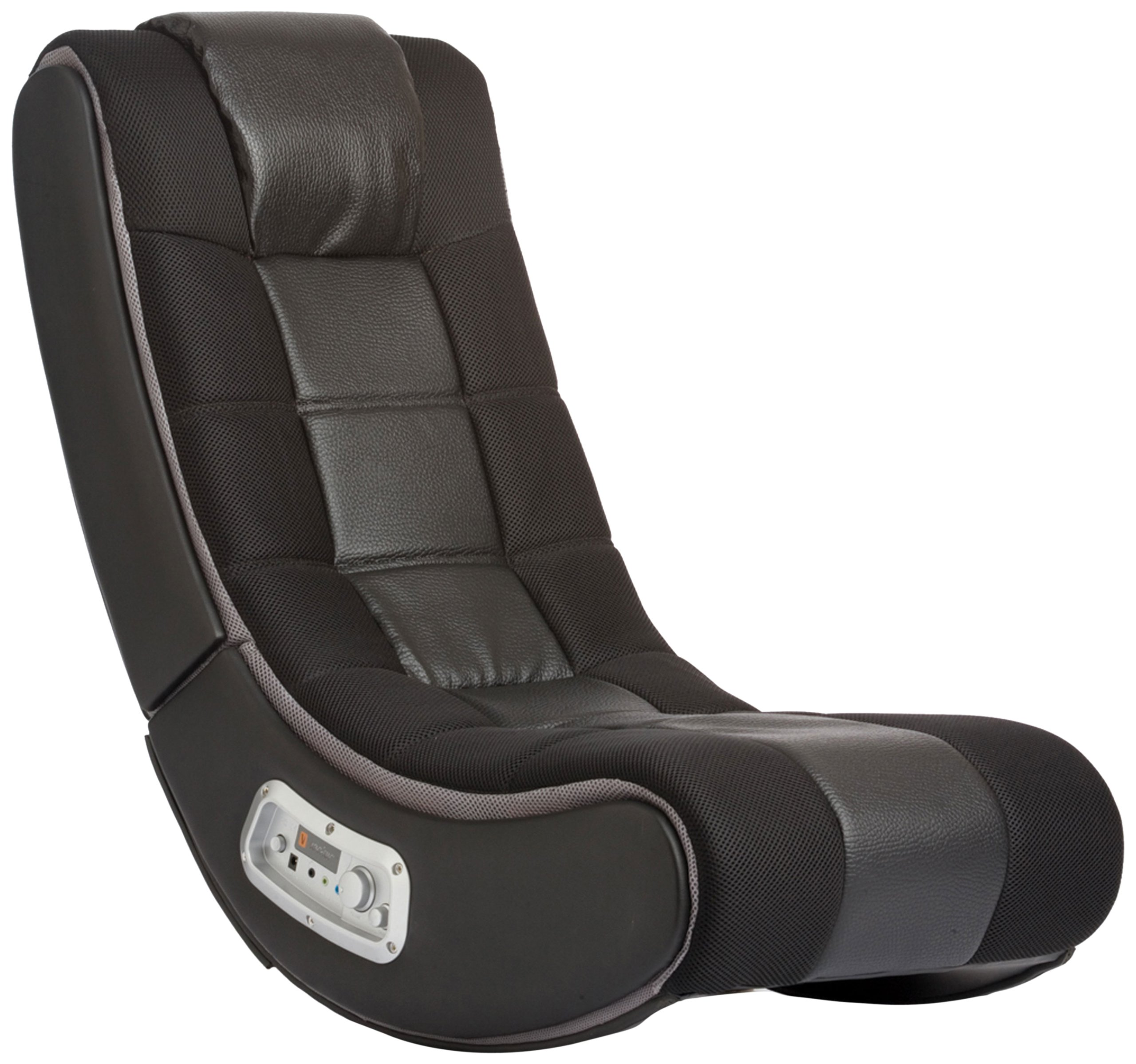 V Rocker 5130301 SE Video Gaming Chair, Wireless, Black with Grey