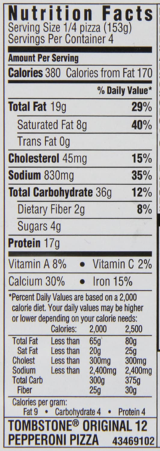 Outstanding California Pizza Kitchen Nutrition Facts Collection ...