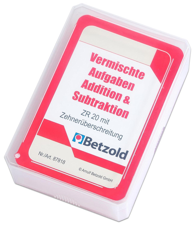 Betzold 87818 - Addition/Subtraktion-Kartensatz für den Magischen ...