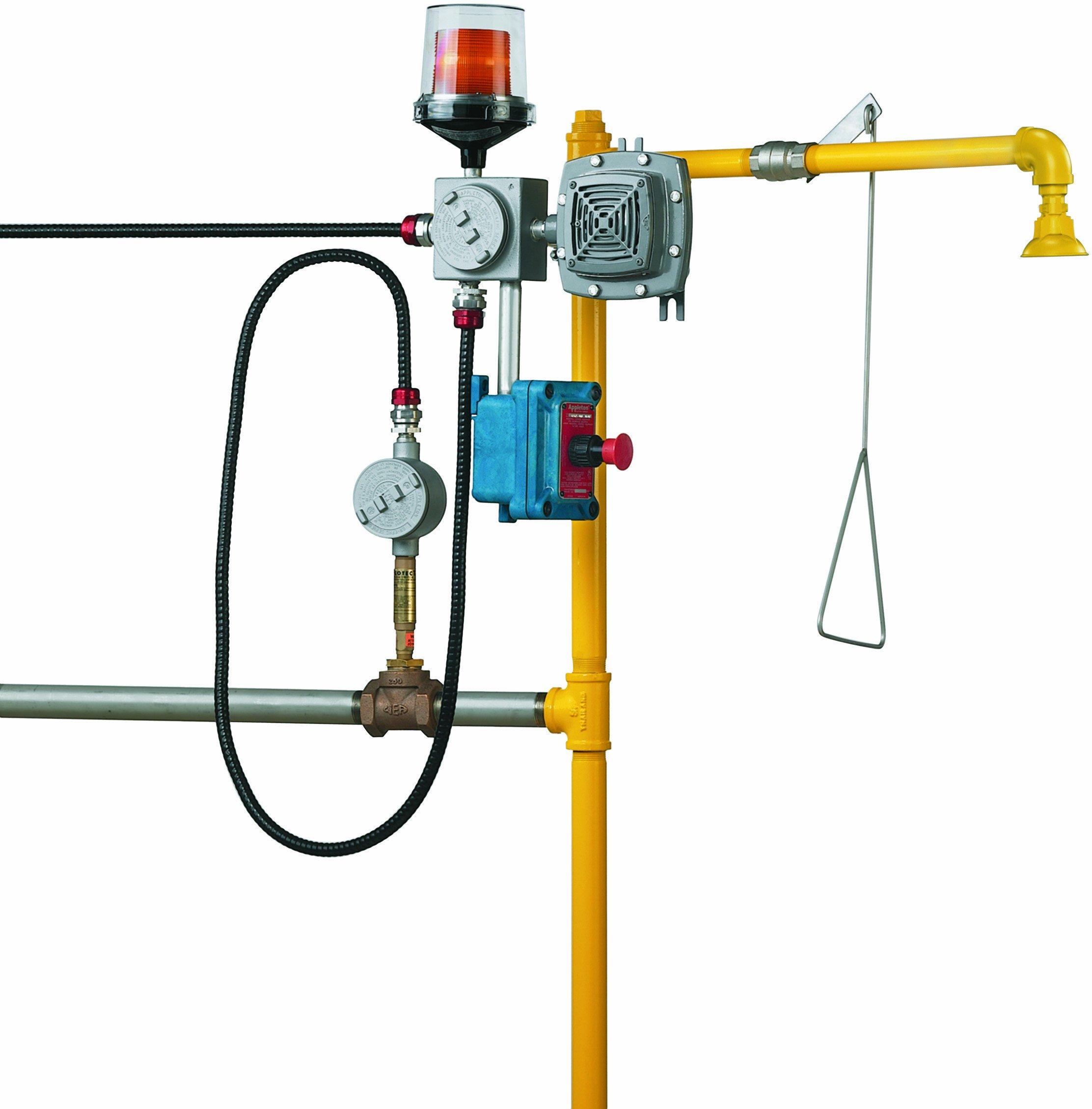 Bradley S19-320C Flow Switch Safety Shower Alarm System, 12' Cord