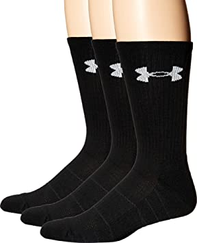 Under Armour Calcetines Team OTC Negro Negro Talla:Large: Amazon.es: Deportes y aire libre