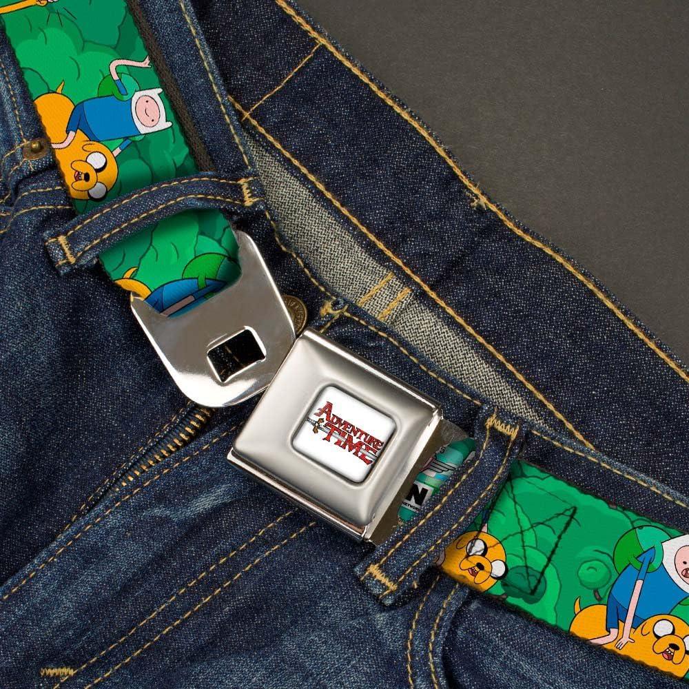 Buckle-Down Seatbelt Belt Adventure Time Regular