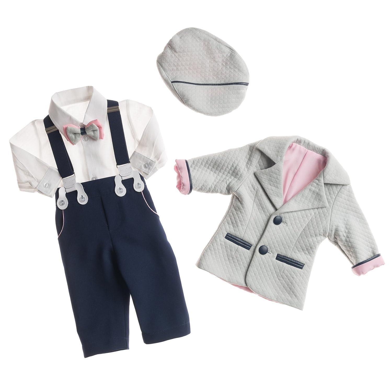 Taufanzug TRISTAN mit Sakko und ökologischem Leder