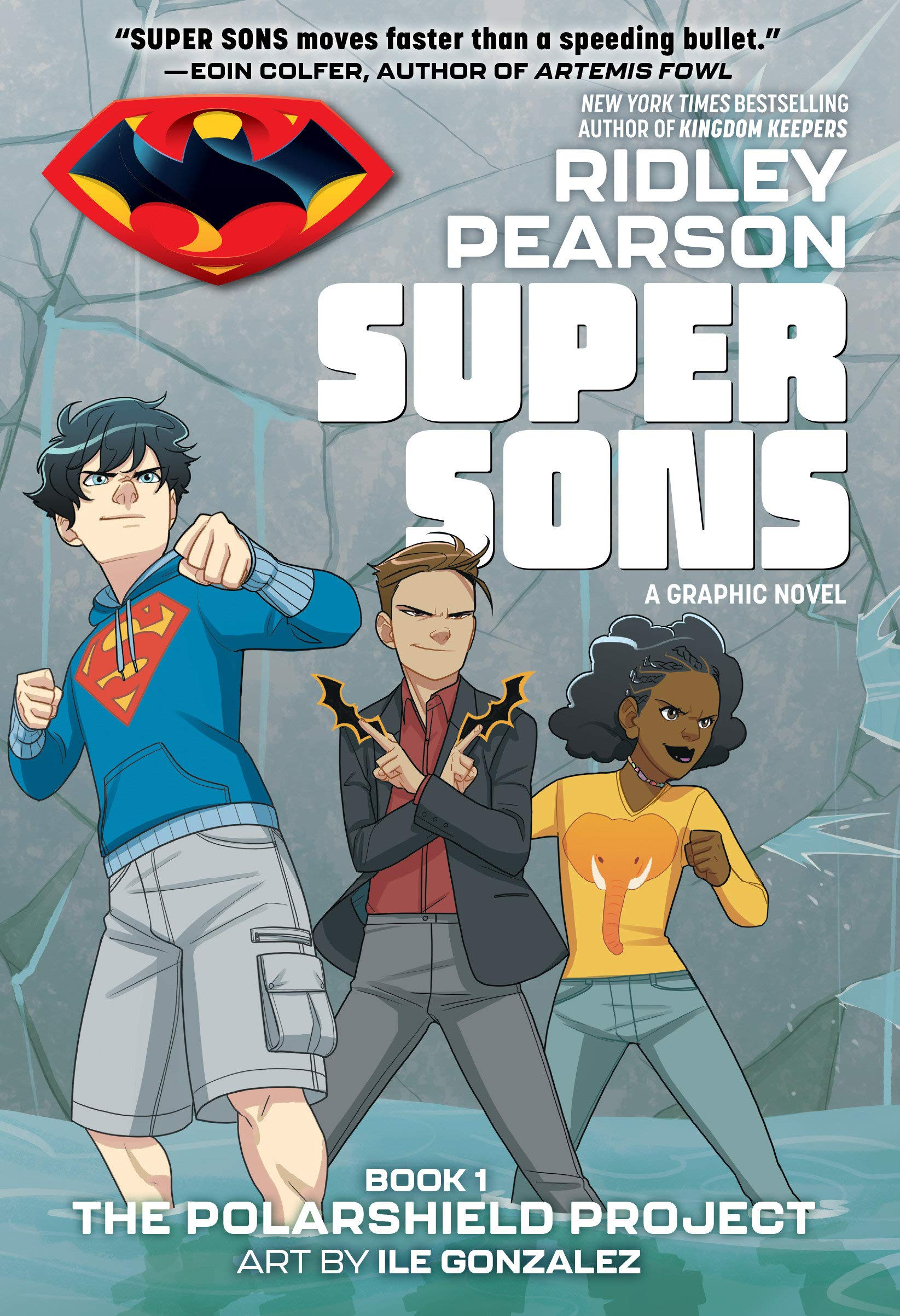 Image result for super sons ridley pearson