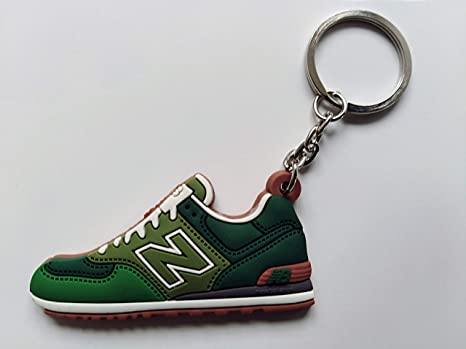Llavero Zapatillas New Balance Goma Silicona 6 CM Verde ...