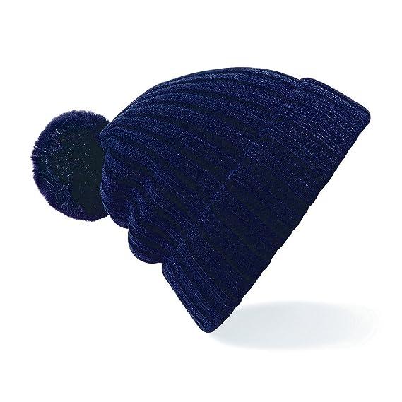 Beechfield - Gorro de invierno modelo Arosa estilo Beanie con pompón para  mujer (Talla Única Azul marino)  Amazon.es  Ropa y accesorios 5188335c16e