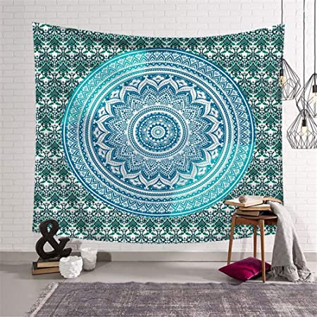 Shentop Indian Mandala Tapestry Yoga Mat Funda de Cama ...