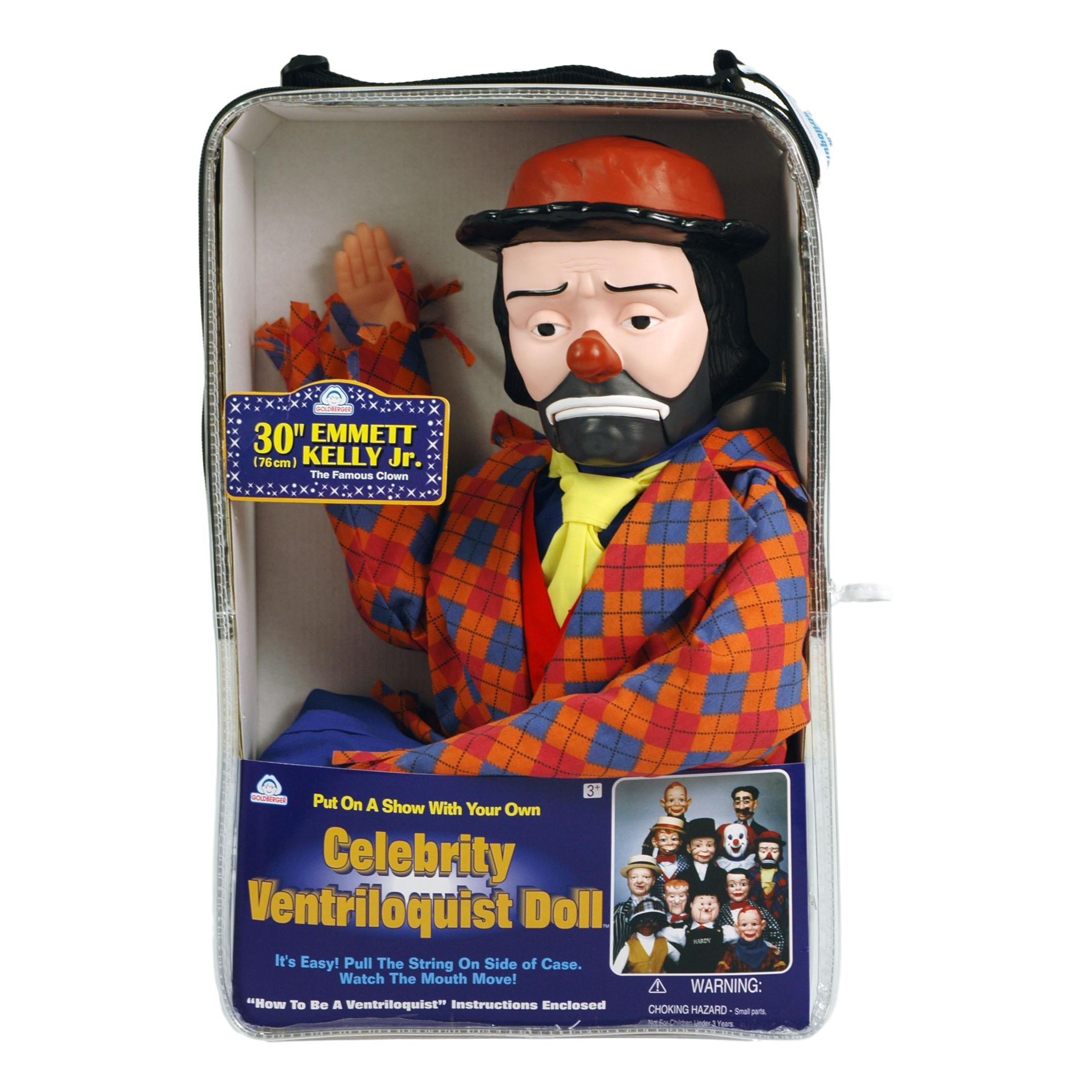 ThrowThings.com Bonus Bundle! Emmett Kelly Jr Ventriloquist Dummy Doll PLUS Ventriloquism Revealed Booklet PLUS Two Finger gEyes by ThrowThings.com (Image #5)