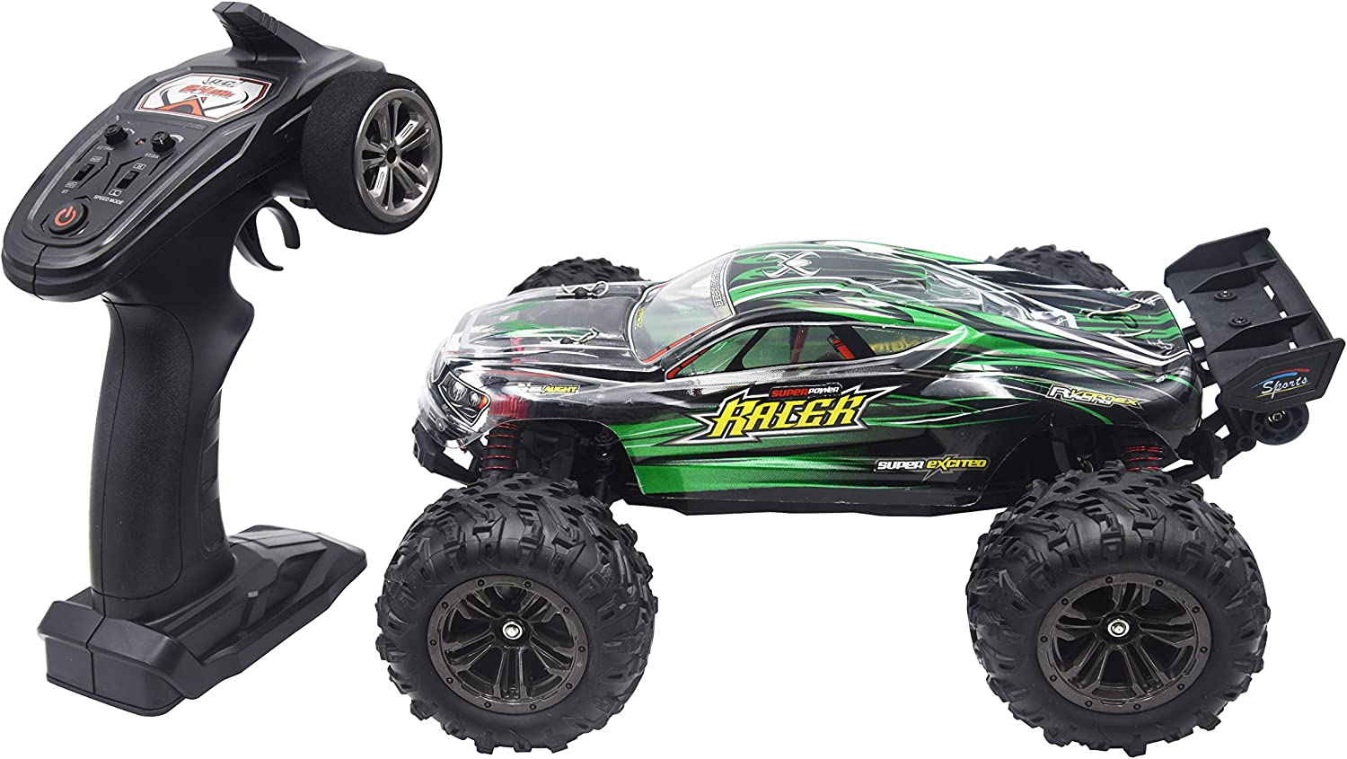 High Speed Brushless 1//16 ScaleRC Truck for Kids and Adults Q903 Green Blomiky 52KMH