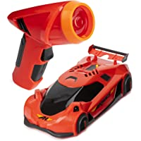 Air Hogs, Zero Gravity Laser-Guided Real Wall Climbing Remote Control Race Car, Red