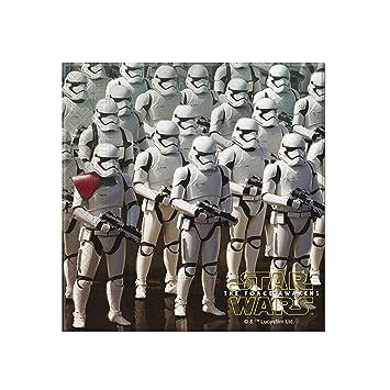 20 Servietten f/ür Kindergeburtstag und Motto-Party //// Set Napkins Kinder Einweg Geburtstag Motto The Force Awakens Lucasfilm Darth Vader Yoda Krieg der Sterne Disney Episode Klonkrieger R2-D2 C-3PO STAR WARS VII