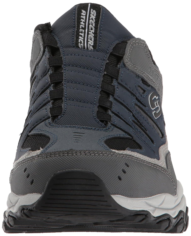 Skechers-Afterburn-Memory-Foam-M-fit-Men-039-s-Sport-After-Burn-Baskets-Chaussures miniature 65